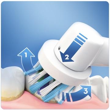 Электрическая зубная щетка crossaction купить